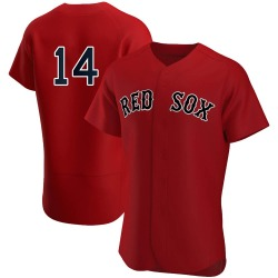 Jim Rice Boston Red Sox Men's Authentic Alternate Team Jersey - Red