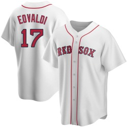 Nathan Eovaldi Boston Red Sox Men's Replica Home Jersey - White